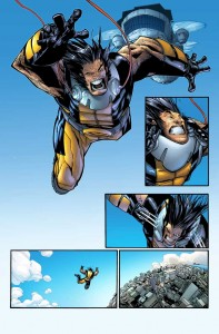 Wolverine dans Civil War 2