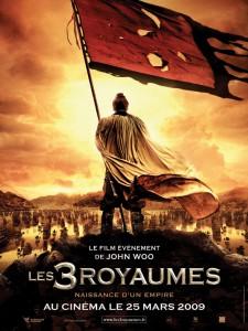 """Affiche de """"Les Trois Royaumes"""" de John Woo"""
