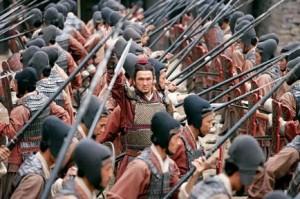 l'Art de la Guerre très utilisé - Les Trois Royaumes de John Woo