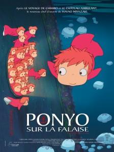 Ponyo sur la falaise d'Hayao Miyazaki