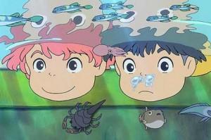 Ponyo et Sosuke