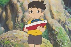 Sosuke, garcon de Ponyo sur la Falaise