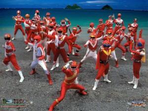 Pourquoi les héros de Sentai/ mangas sont-ils rouges?