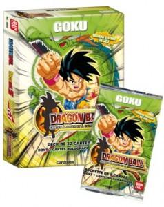 Cartes à jouer Dragon Ball - Série Goku