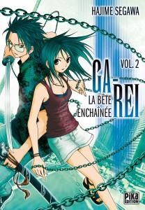 Ga-Rei, la bête enchainée - tome 2 d'Hajime Segawa