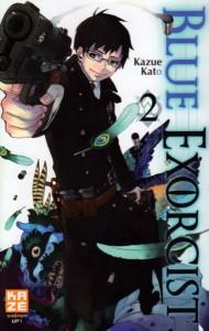 Blue Exorcist - tome 2 de Kazue Katô