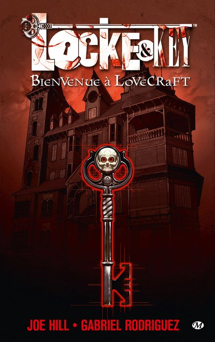 La Bande dessinée Locke-and-Key-tome-1-Bienvenue-%C3%A0-Lovecraft.