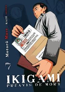 Ikigami - tome 7 de Motorô Mase
