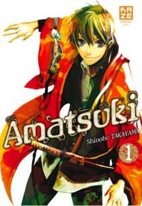 Amatsuki - tome 1 de Shinobu Takayama