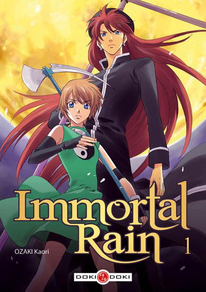 Immortal Rain – tomes 1 et 2 par Kaori Ozaki