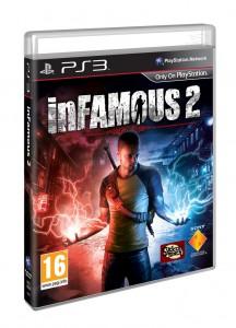 Infamous 2 sur PS3 - jacquette