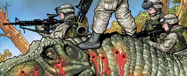 Deux nouvelles licences chez Delcourt : Guns & Dinos et Brutal