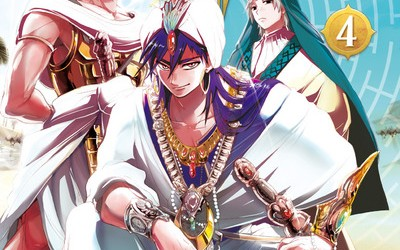 Magi, The Labyrinth of Magic – tome 4