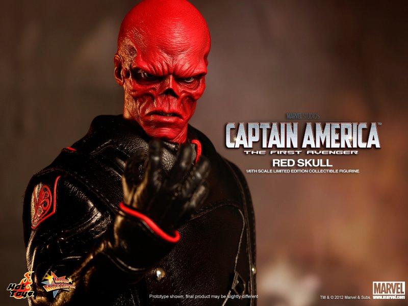 Hot toys red skull 10 - Mechant avenger ...