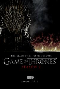 Poster Game of Thrones, saison 2