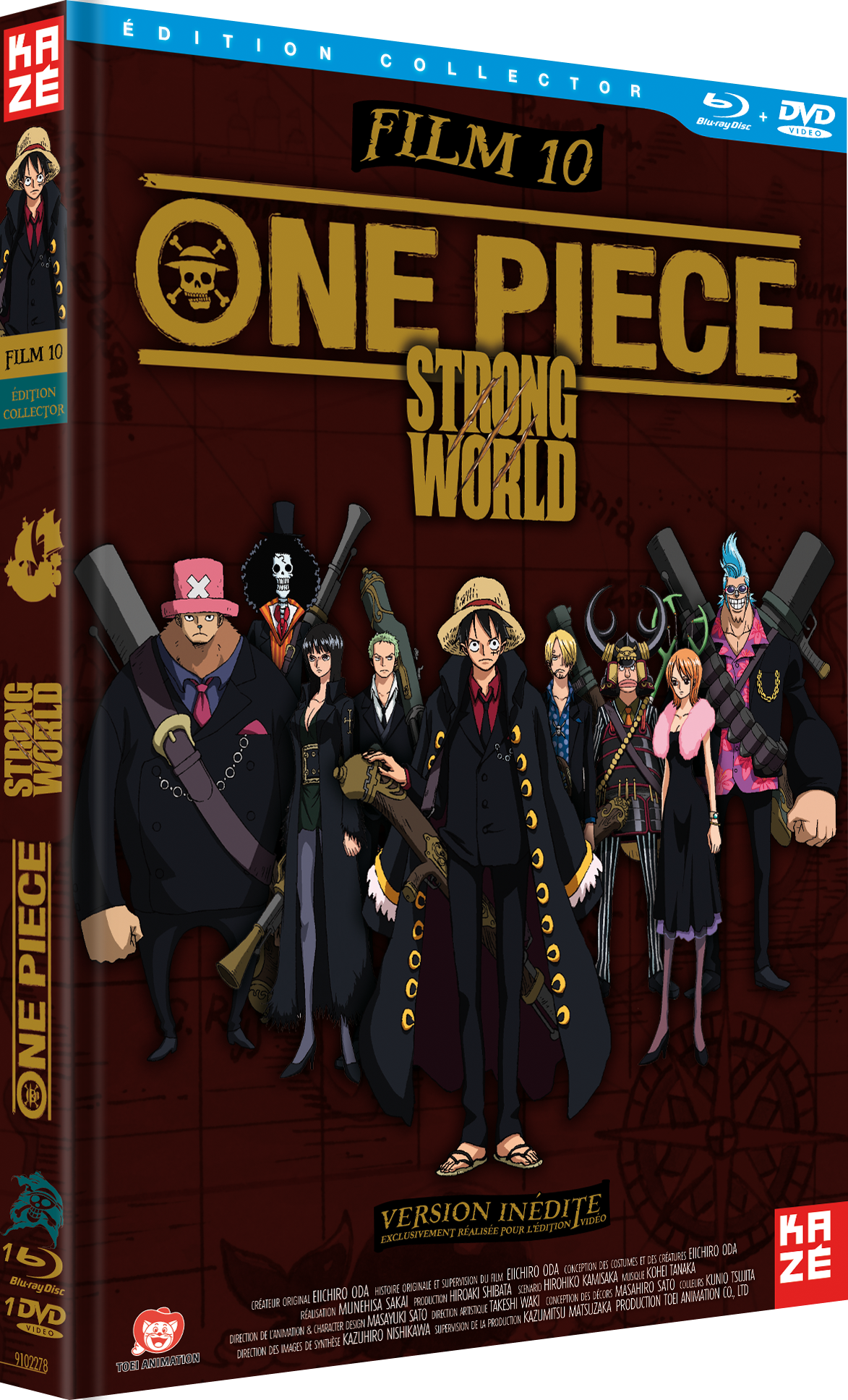 Blu Ray One Piece Strong World