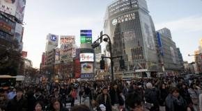 Retour du Japon – Tokyo : Shibuya.