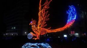 Retour du Japon – Hiroshima : Décorations de Noël.