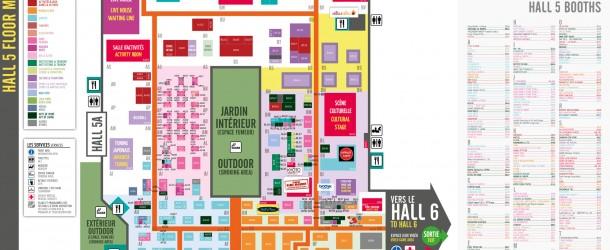 Plans Japan Expo / Comic Con Paris 2012