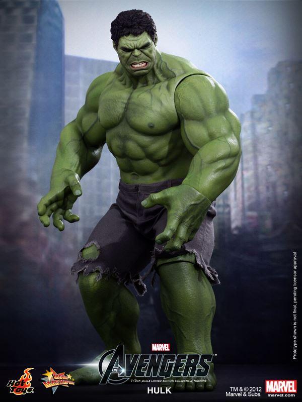 Figurine Hot Toys d   Hulk du film The AvengersThe Avengers Hulk Toys