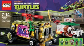 Set LEGO Teenage Mutant Ninja Turtles : The Shellraiser