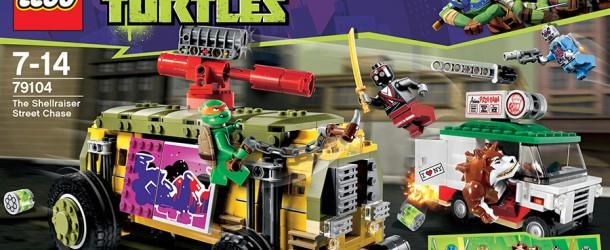 Set LEGO Teenage Mutant Ninja Turtles : The Shellraiser