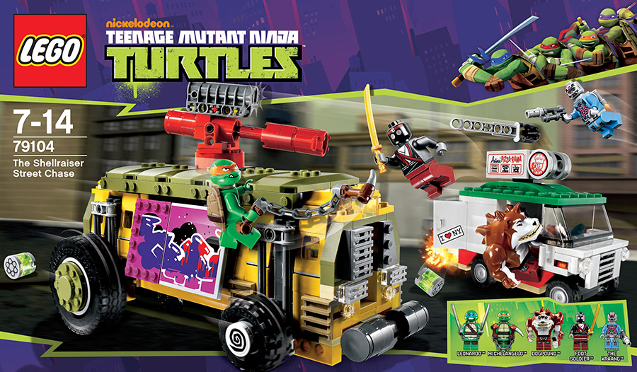 LEGO Tortues Ninja