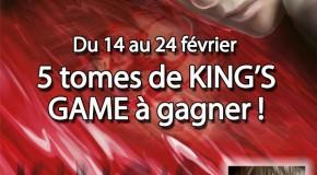 Résultats King's Game
