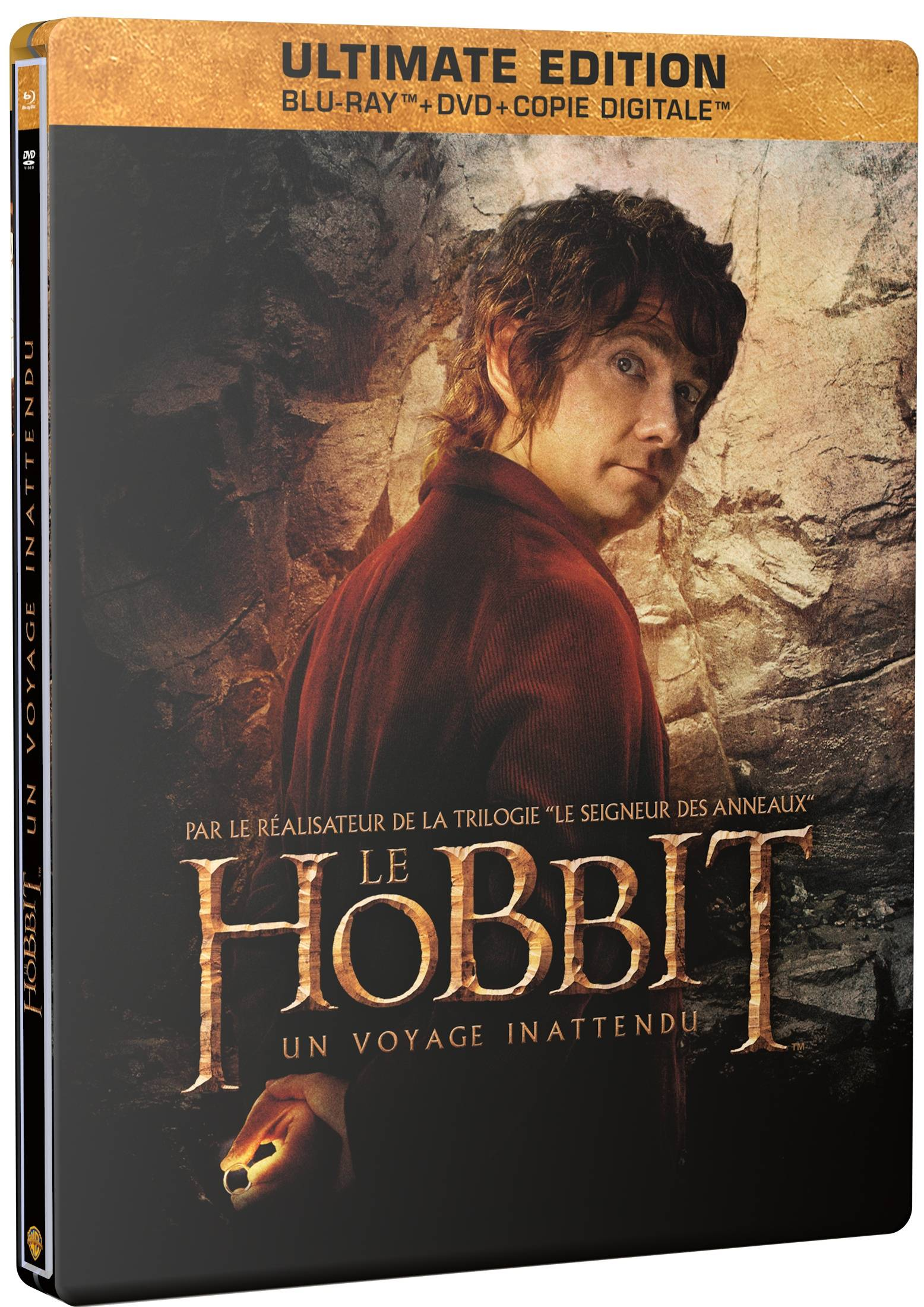 jaquette blu ray le hobbit un voyage inattendu. Black Bedroom Furniture Sets. Home Design Ideas