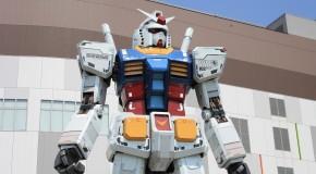 Retour du Japon – Le Gundam taille réelle à Odaiba