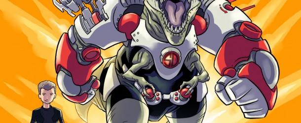 Super Dinosaure – tome 1 de Robert Kirkman et Jason Howard