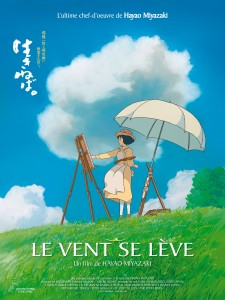 Le Vent se Lève d'Hayao Miyazaki - Affiche