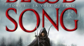 Blood Song, tome 1 : La Voix du Sang d'Anthony Ryan.