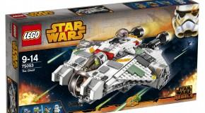 Résultat du concours LEGO Ghost – Star Wars Rebels