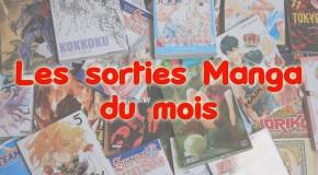 Les sorties manga de Janvier 2017