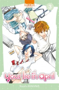Your Lie in April - tome 3