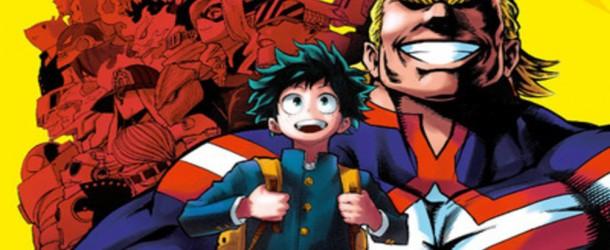 My Hero Academia – tomes 1 et 2 de Kôhei Horikoshi