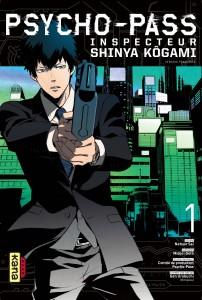 Psycho-pass, inspecteur Shinya Kogami - tome 1